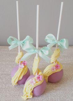 #Rapunzel #Tangled cakepops  https://www.facebook.com/pages/Baked-with-Love/115563808503000?sk=timeline