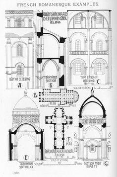 Characteristics of Romanesque Architecture (II) Architecture Byzantine, Architecture Antique, Romanesque Architecture, Romanesque Art, Renaissance Architecture, Church Architecture, Organic Architecture, Japanese Architecture, Futuristic Architecture
