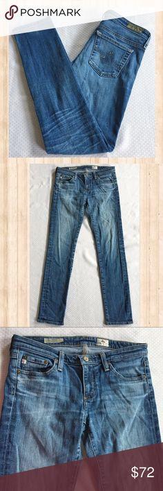 """AG The Stilt Cigarette Leg skinny jeans AG The Stilt Cigarette Leg skinny jeans. Inseam: 30"""" Waist: 14.5"""" Rise: 7.5"""" Leg Opening: 6"""" Ag Adriano Goldschmied Jeans Skinny"""