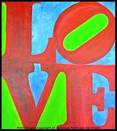 ALL YOU NEED IS LOVE at Saratoga Paint & Sip Studio