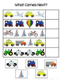 Preschool themes, activities for kids, visuo spatial, transportation theme Preschool Centers, Preschool Themes, Preschool Lessons, Preschool Worksheets, Preschool Learning, Learning Activities, Toddler Activities, Teaching, Transportation Theme Preschool