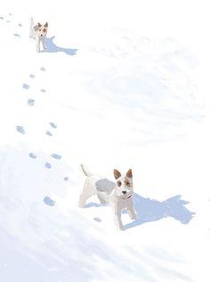 Illustration for Happy Birthday Coco by Tatsuro Kiuchi