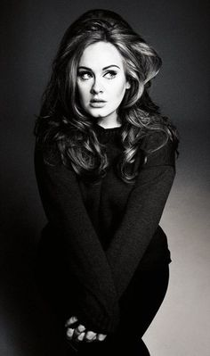 Adele....ahhhh.....my favorite singer...... did I not mention shes my favorite singer<3