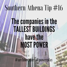 The companies in the tallest buildings have the most power #southernathenatips #powerplay #cre #realestate #politics #architecture #historylesson. The #banks are taking over #Nashville! Call us today if you want YOUR space or property to #standout