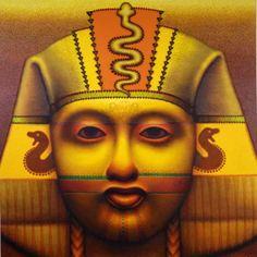 "Ed Paschke ""Amber Pharaoh"" 2001"