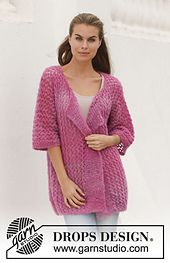 Free pattern on Ravelry: 155-19 So Berry pattern by DROPS design