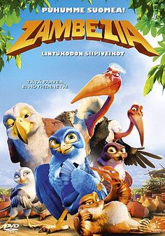 """Watch Zambezia full hd online Set in a bustling bird city on the edge of the majestic Victoria Falls, """"Zambezia"""" is the story of Kai - a naïve, but high-spirited young falcon who travels to th Disney Full Movies, Top Movies, Movies To Watch, Movies Free, Internet Movies, Movies Online, Paul Panzer, Kaya Yanar, Naive"""