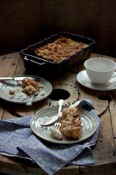 PUDDING DE PAN, NUECES Y MANZANA A LA CANELA - Sweet & Sour