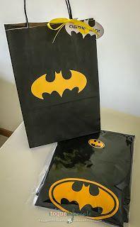 Aniversário Batman - Máscara Lembrancinha:  como fazer uma máscara em feltro de Batman e Batgirl  Batman Party: how to make Batman mask.