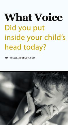 You think you're child is great, don't you? Are you confident that's what the voice inside his head is telling him you think? The repeated statements from parents to their children are far more powerful than many parents understand, following them far into adulthood. Click through for a list of positive messages to speak into a child's heart.