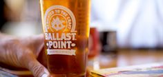 Ballast Point - San Diego, CA (Their Sculpin IPA won the gold medal in World Beer Cup, and for good reason) Ballast Point, Little Italy, Shark Week, Brewing Company, Ipa, Hot Sauce Bottles, Jet Set, Craft Beer, Brewery