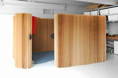 Büro Bereich Trennwand System falten Papier