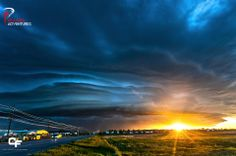 May 27, 2014 Gillette, WY  Cool shelf at sunset #coltforneyphotography #basehunters