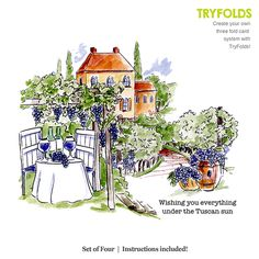 TryFolds - Set of 4 - instructions included