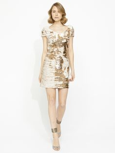 Image for The Gemini Sequin Dress from Portmans