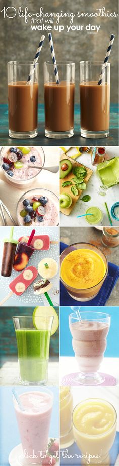 Plug your blender back in! One of these 10 tasty smoothie recipes will surely fit your goals and tastes.