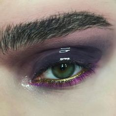 Dusty Purple Glossy Eyeshadow