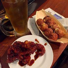 #octopusball #tokushima #japon - 12件のもぐもぐ - 塩タコ、ゲソ天、ウーロン茶 by maixx ใหม่