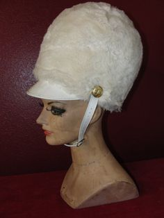 Vintage Uniform Hat Drum Majorette