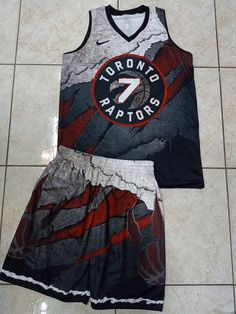 Full Sublimated Basketball Jersey for Sports Enthusiast (Toronto Raptors) - Fitness and Exercises, Outdoor Sport and Winter Sport Toronto Raptors, Cool Basketball Jerseys, Custom Basketball Uniforms, Basketball Court, Nba Uniforms, Sports Uniforms, Tarpaulin Design, Sports Jersey Design, Camisa Floral