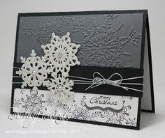 Wickedly Wonderful Creations: Black & White Christmas