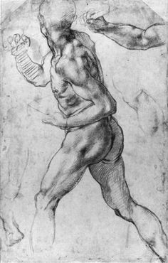 A drawing by Michelangelo