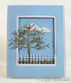 Memory Box die card by Kitty Caracciolo (Kitty Kraft)