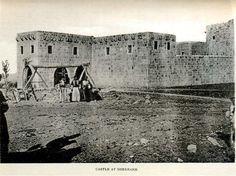 """Shernakh"" Kalesi. Muhtemelen bugünku il merkezi Şırnak 1908"