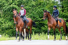 July 8th Crown Prince Frederik & Crown Princess Mary at Gråsten Palace, going out on a horseback ride.