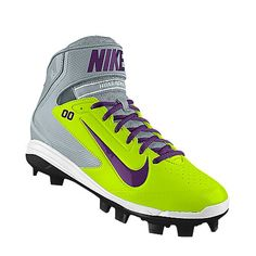 I customized my own softball cleats. I'm looking forward to getting these for softball this summer!!