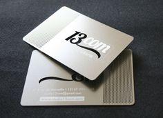 Carte Metal Brute 13COM