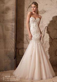 Brautkleid / Hochzeitskleid von MORI LEE