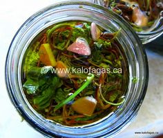 pickled grapevine shoots