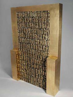 Parviz Tanavoli- 'Oh Persepolis II' (1975-2008)