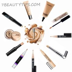 cover acne,blemishes and dark circles with make up