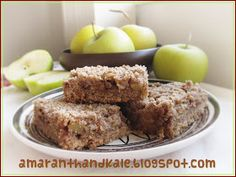 Amaranth & Kale: Apple Pecan Crumble