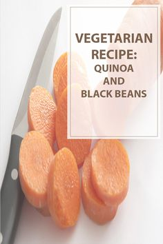 """Quinoa and Black Beans  The Quinoa and Black Beans will satisfies ALL your requirements for a """"great"""" recipe! Get a load of this, and I am not exaggerating. It's quick and easy, inexpensive, attractive to look at, delicious, and very very healthy. It travels and refrigerates well and it can be eaten hot or cold. What else is there to say? #cooking #recipes #vegetarian 