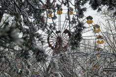 Chernobyl Exclusion Zone in the winter.