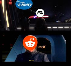 The current situation between Disney and EA