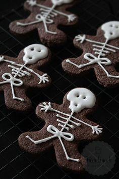 Skelet koekjes   HandmadeHelen