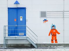 Street Artist Invader Hits the European Space Agency   VICE Canada   The Creators Project #VICE #Invader #StreetArt