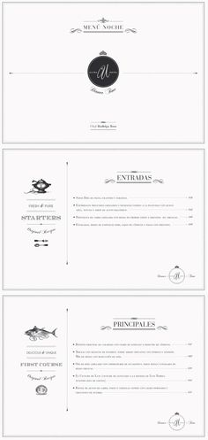 brand identity and menu design Menu Layout, Print Layout, Layout Design, Print Design, Restaurant Menu Design, Restaurant Branding, Hotel Menu, Typography Layout, Typography Letters
