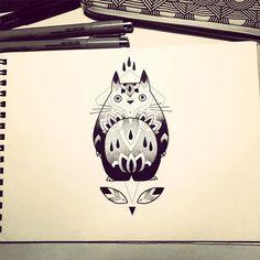 Série Miyazaki #2 Totoro
