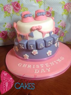 Christening cake by Angell Cakes