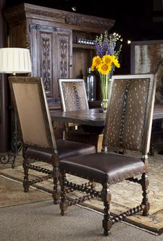 Superior Axis Hide Dining Chairs. Brumbaughu0027s Fine Home Furnishings