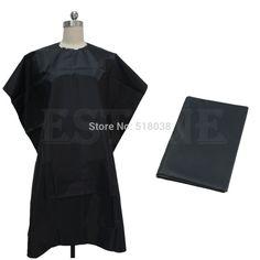 Long Spa Massage Robe Kimono Robe Bath Gown Solid Color Smock Cape Dress Hair Dye Shampoo Makeup Client Apparel Uniform_black Fragrant Aroma Bath Hardware Sets