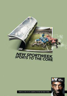 Adeevee - Sportweek magazine, La Gazzetta dello Sport: Surf, Rugby, Skateboard, Basketball