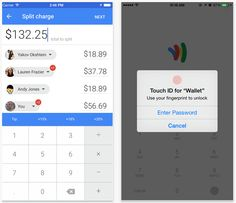 Google Wallet iOS app now supports Touch ID and lets you split the bill between friends
