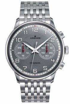 Meister Driver Chronoscope 027/3686.44 Watch, convex plexiglass crystal…