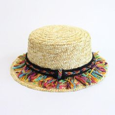Flat Top Straw Hat Boater Hats Bone feminino Straw Hats Women Wide Brim  Flat Top a3b1f45bbfea
